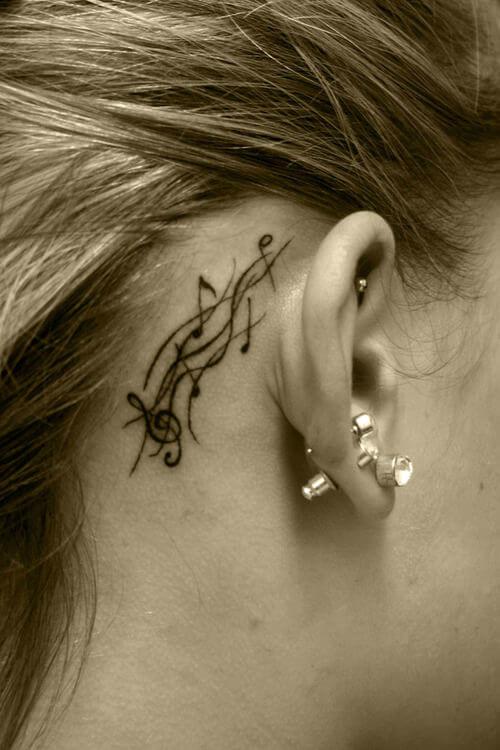 behind the ear tattoos 12 (1)