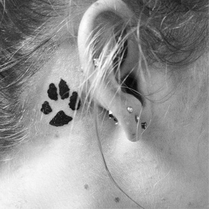 Tattoo Ideas Behind Ear: 31 Behind The Ear Tattoos That Will Make You Want To Get Inked