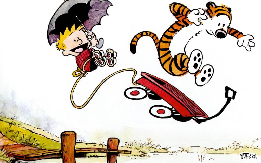 29 Calvin And Hobbes Wallpaper Comics That Were Everything