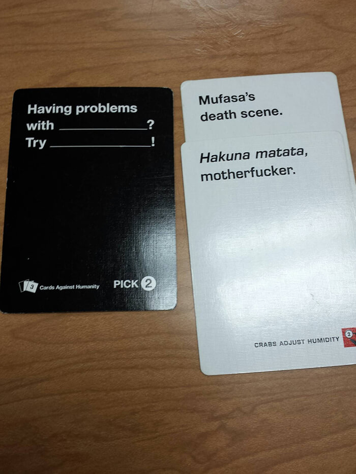 Funny Cards Against Humanity Meme : Cards against humanity best combos that prove this game