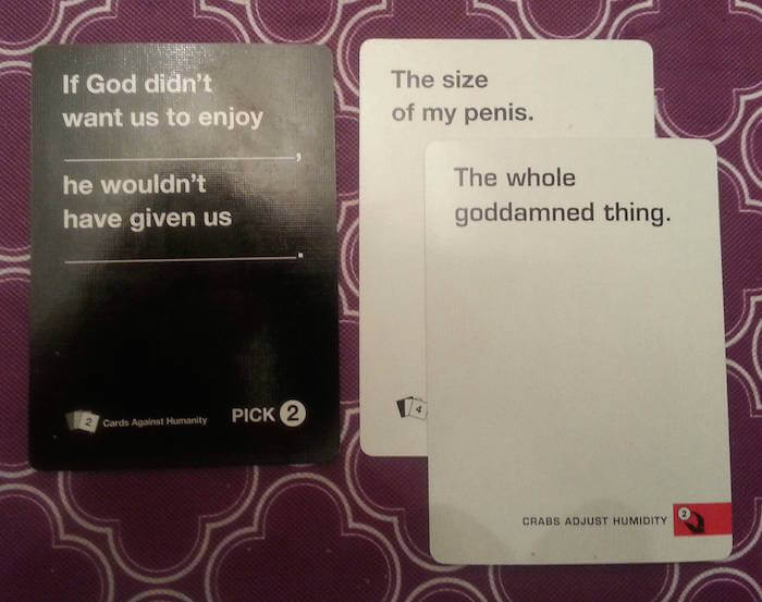 44 Cards Against Humanity Best Combos That Prove This Game Is Insane