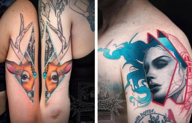 chris rigoni amazing tattoos feat