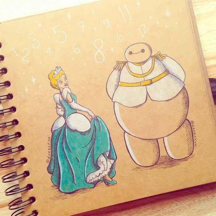 cute drawings of movie characters 13 (1)