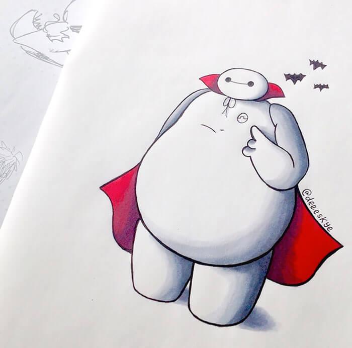 cute drawings of movie characters 15 (1)