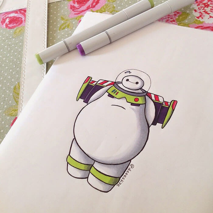 cute drawings of movie characters 16 (1)