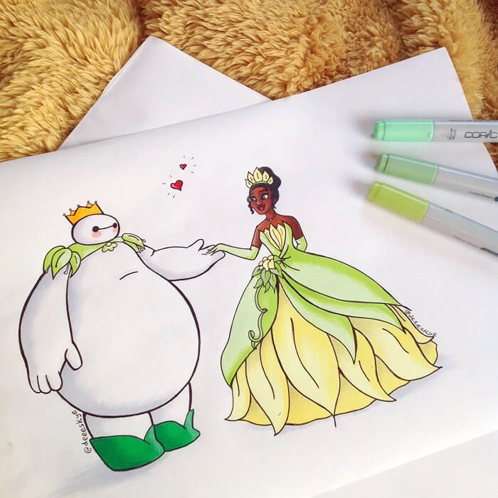 cute drawings of disney characters 8 (1)