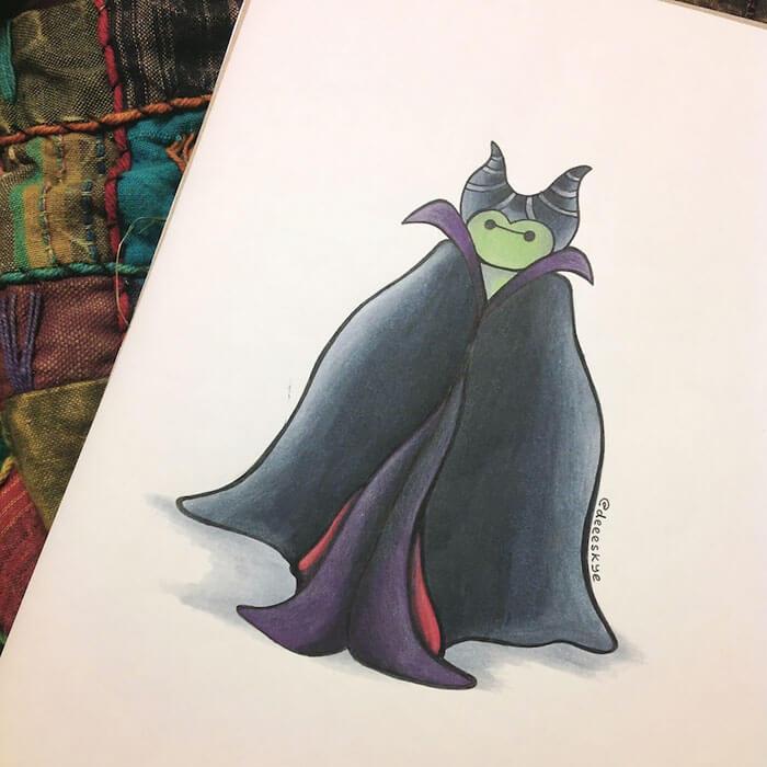 cute drawings of disney characters 9 (1)
