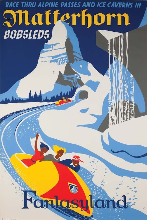 disneyland attraction posters (1)