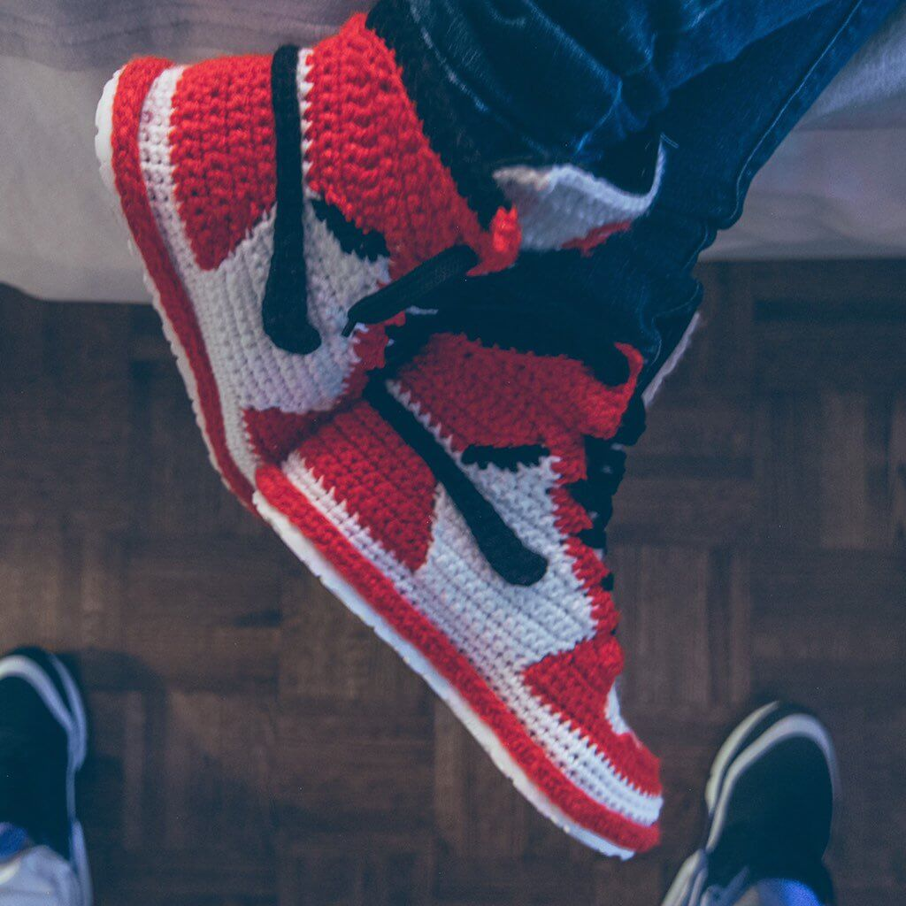 FUGGIT Crochet Sneakers Try To End Sneaker Violence While ...