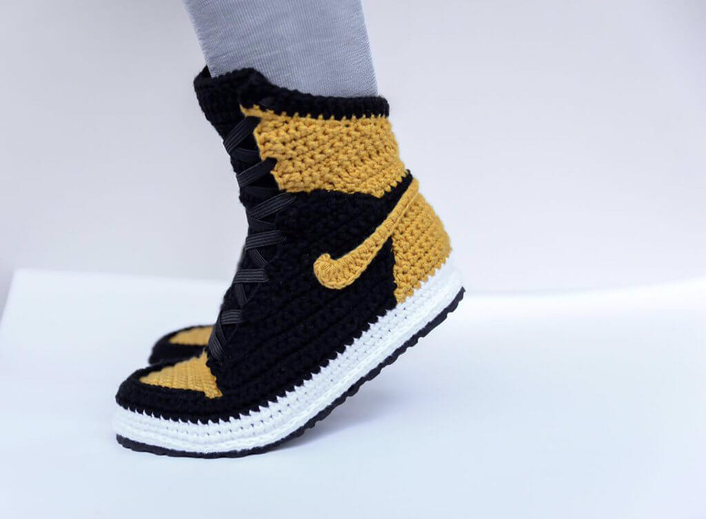 FUGGIT Crochet Sneakers Try To End Sneaker Violence While Looking ...