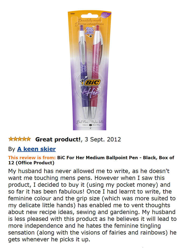 33 Really Funny Amazon Reviews That Should Get Their Own Site