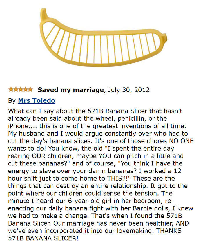 41 Really Funny Amazon Reviews That Should Get Their Own Site