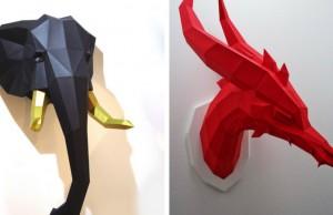 geometric animal art feat
