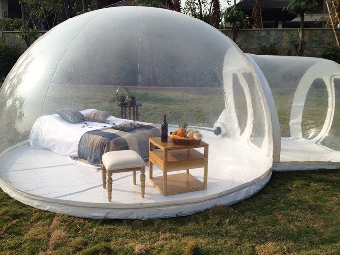 inflatable bubble tent 2
