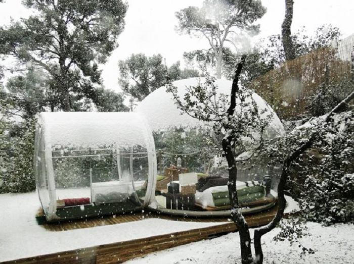 inflatable bubble tent 4