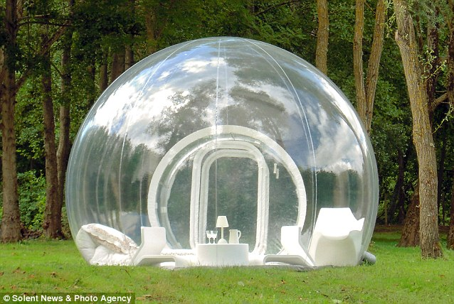 inflatable bubble tent 6
