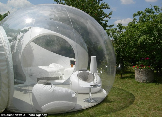inflatable bubble tent 7