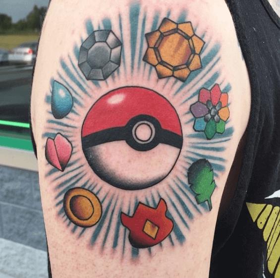 41 Pokemon Tattoos That Every Pokemon Fan Will Love