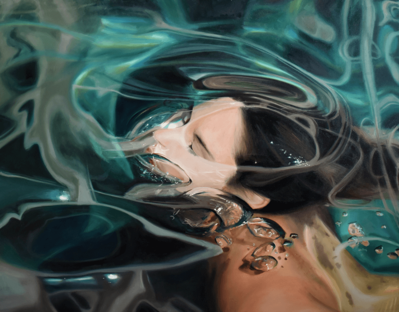 underwater paintings by Reisha Perlmutter 7 (1)