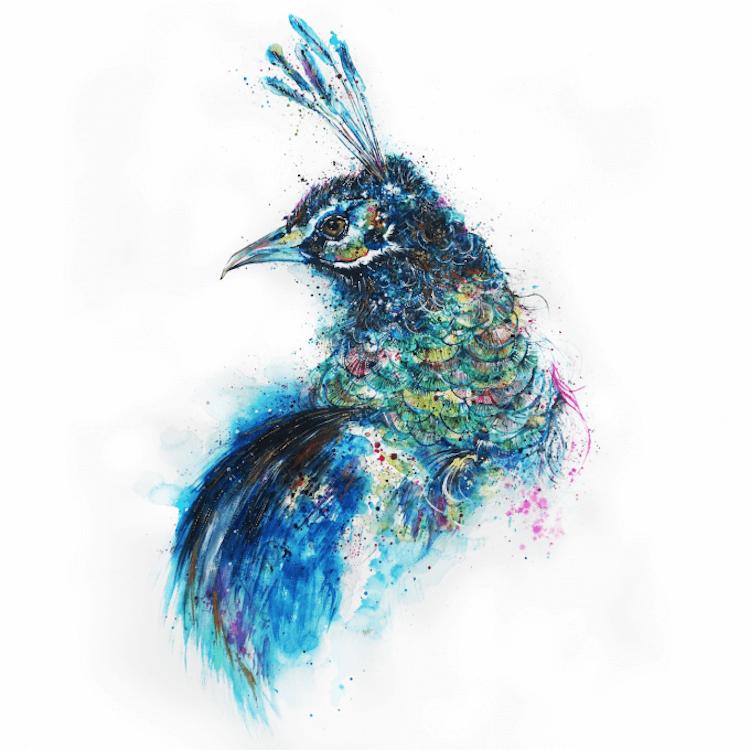 colorful animal portraits 13 (1)