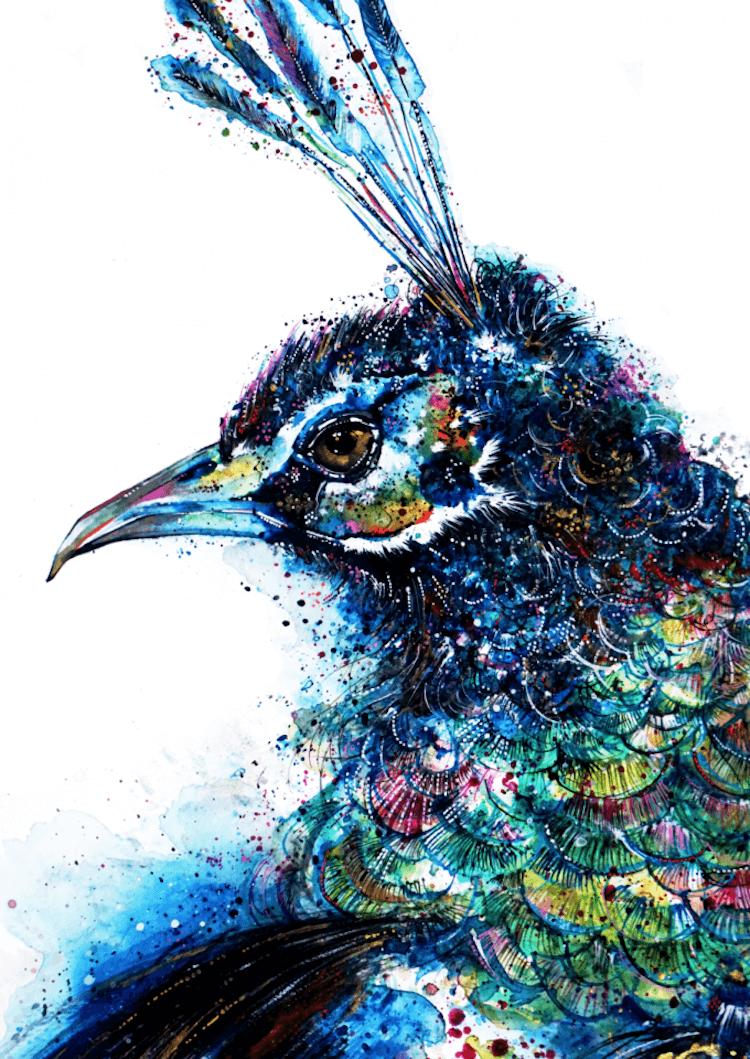 colorful animal portraits 14 (1)