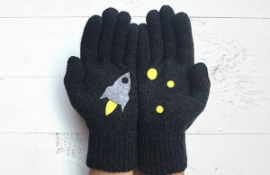 cute gloves feat