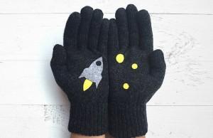 cute gloves feat