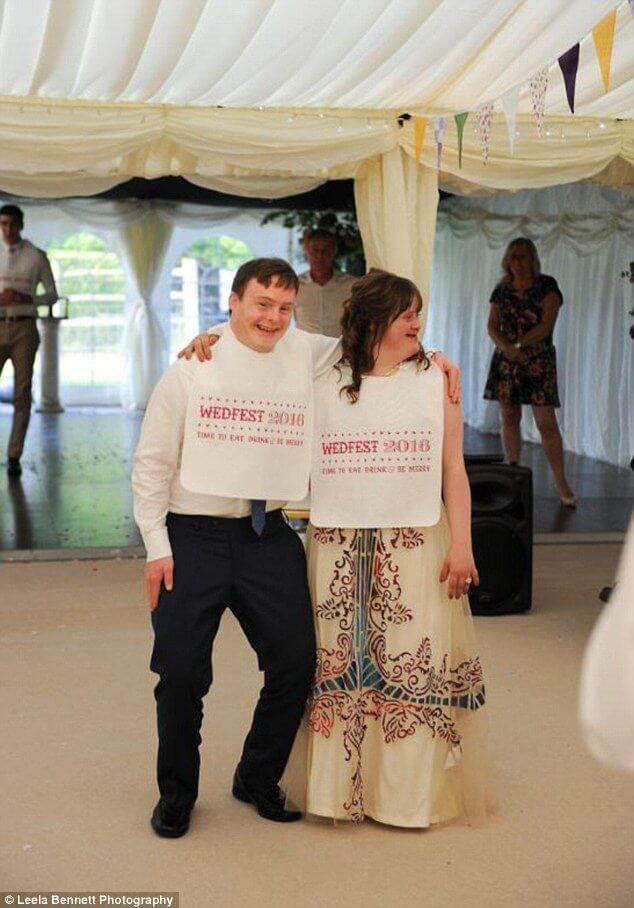 down syndrome couple magical wedding 12 (1)