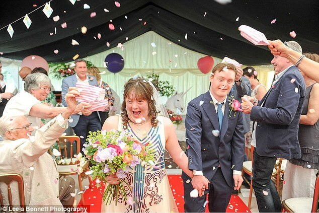 down syndrome couple magical wedding 2 (1)