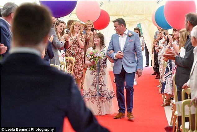 down syndrome couple magical wedding 8 (1)