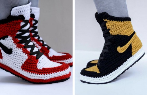 451669b1cce0 FUGGIT Crochet Sneakers Try To End Sneaker Violence While Looking Awesome