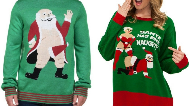 f246fe4f 30 Inappropriate Christmas Sweaters That Is Everything We Love About The  Holidays