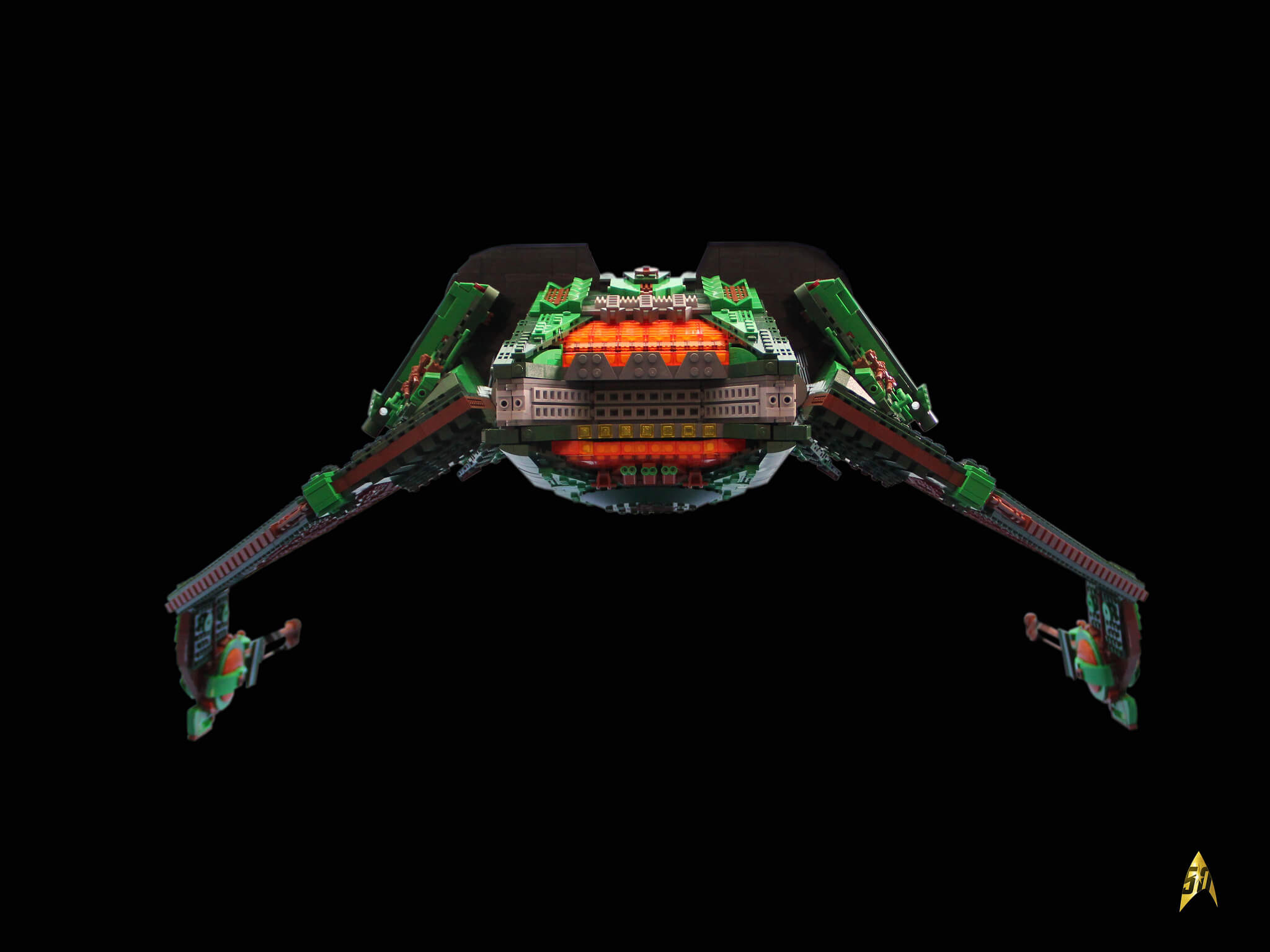 lego klingon bird of prey 10 (1)