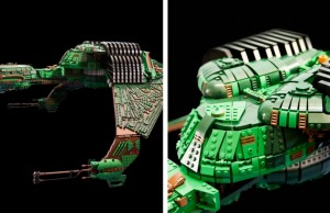 lego klingon bird of prey feat