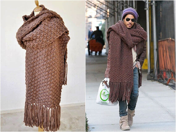 Remember When lenny kravitz scarf Was So Huge The Internet ...