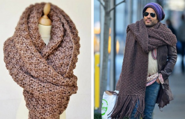 lenny kravitz scarf feat