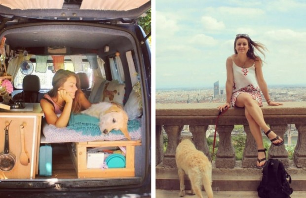 marina piro restores old van feat