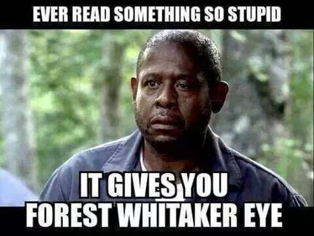 Non Offensive The Forest Whitaker Eye Can Also Happen When You Watch One Of These Most Offensive Memes Esmemescom The 29 Most Offensive Memes That Will Make You Laugh Way Too Much