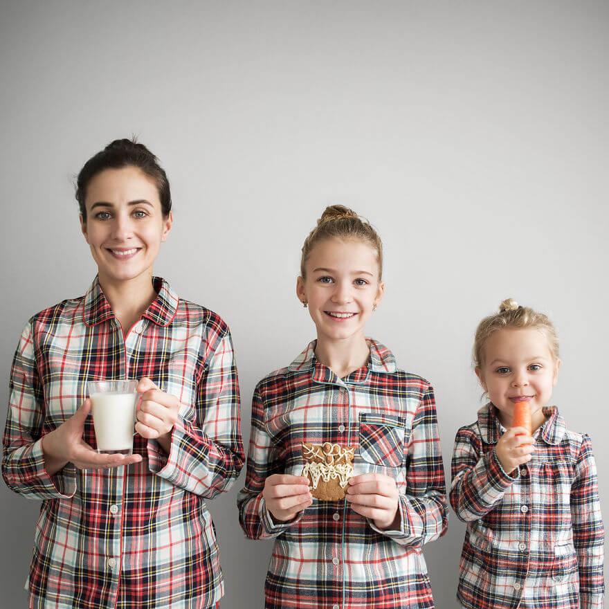 mother duaghter matching clothes photos 17 (1)