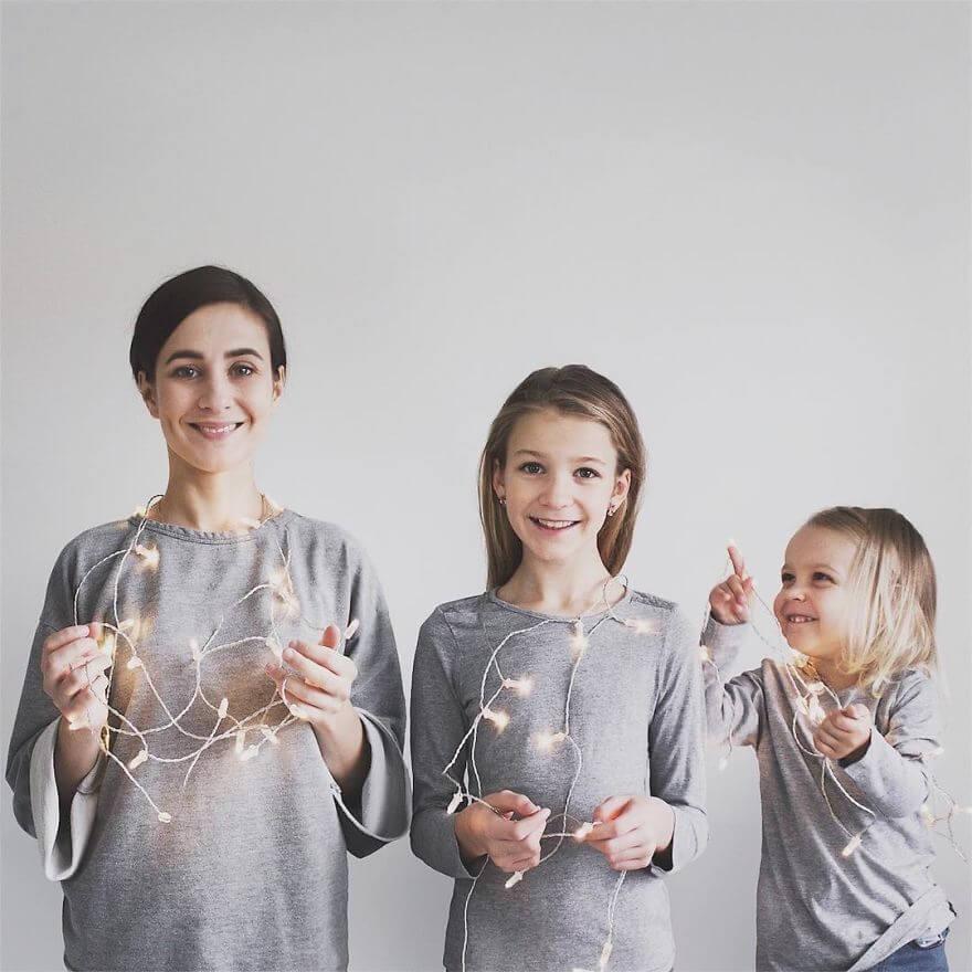 mother duaghter matching clothes photos 19 (1)