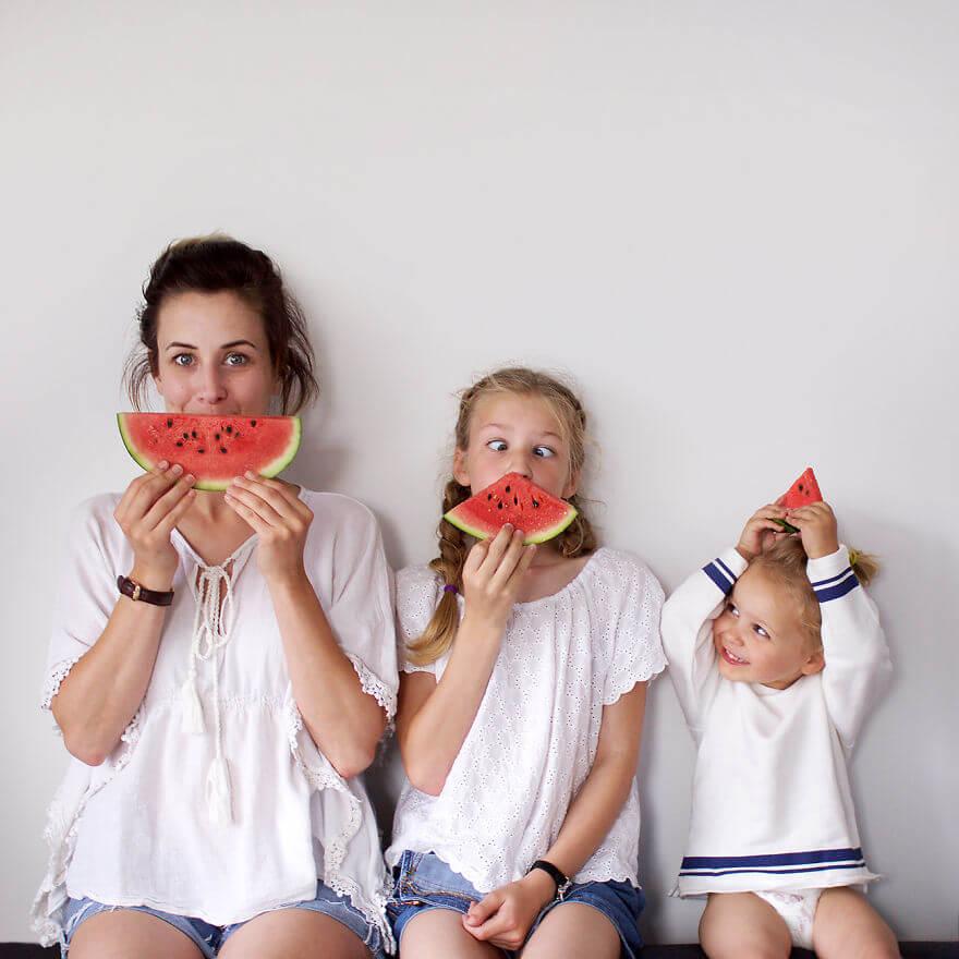 mother duaghter matching clothes photos 2 (1)