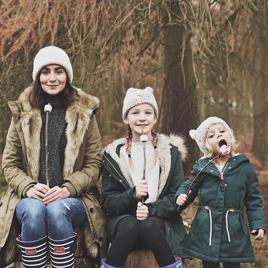 mother duaghter matching clothes photos 7 (1)