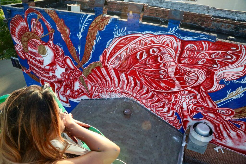 The richmond mural project has an ambitious goal of for City mural projects