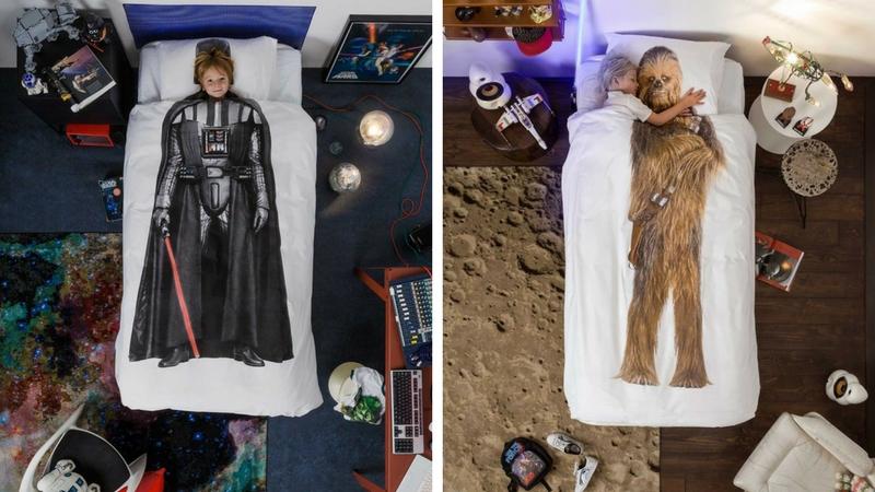 star wars bedding feat