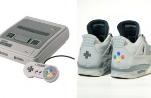 super nintendo sneakers feat