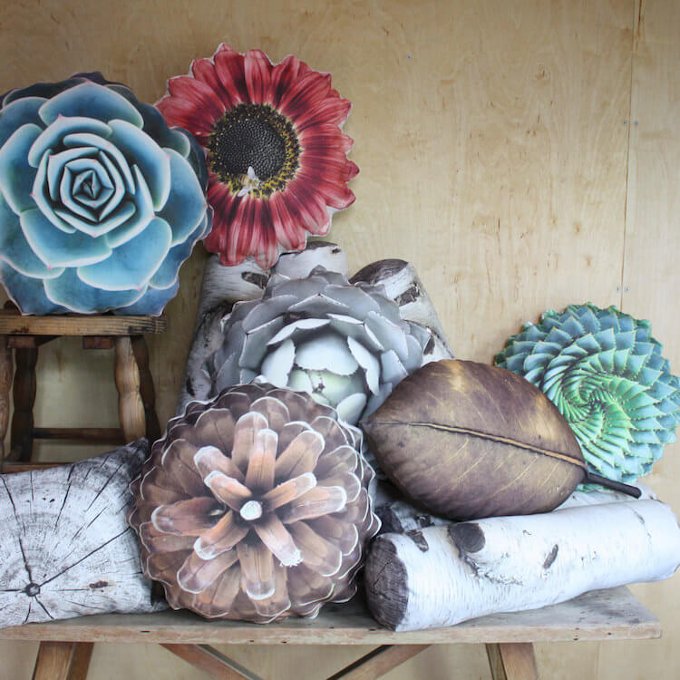 -Plantillo nature pillows
