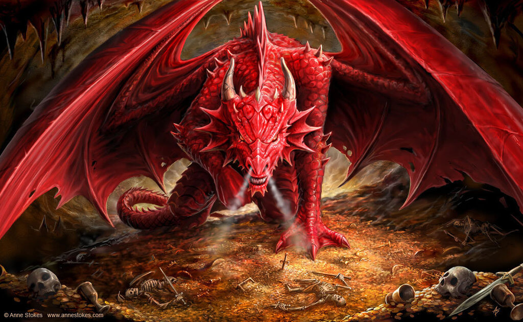 Mythological Dragons: 32 Awesome Dragons Drawings And Picture Art Of The