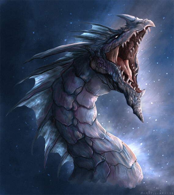 32 awesome dragons drawings and picture art of the mythical creatures - Awesome dragon pictures ...