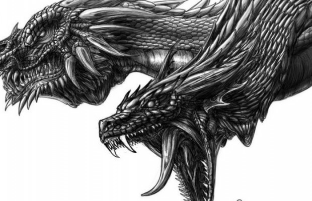 32 awesome dragons drawings and picture art of the mythical creatures