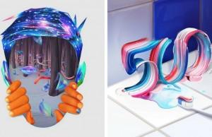 color manipulation art feat